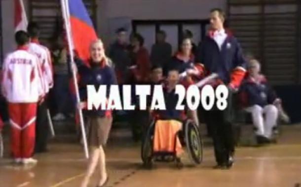 Танцы на колясках. Мальта 2008