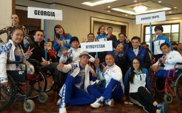 Группа «Тумар» заняла призовые места на турнире танцев на колясках