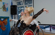 Самая красивая украинка в инвалидной коляске