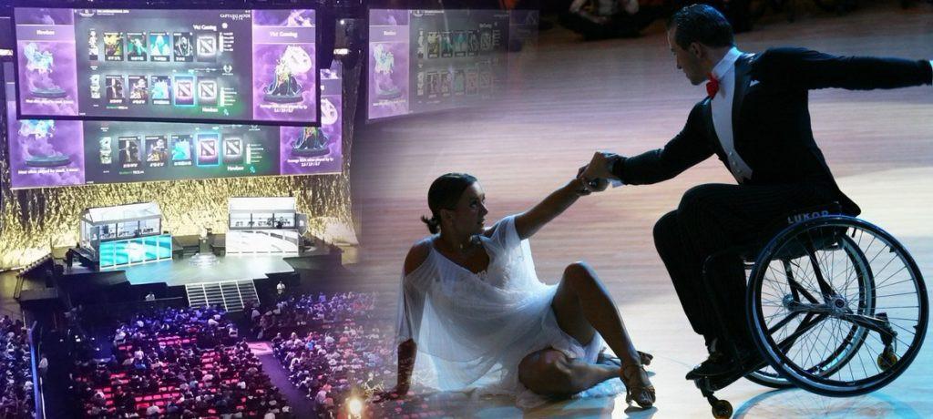 Киберспорт и танцы на колясках признаны в России официальными видами спорта