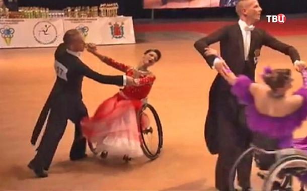 Россиян запретили награждать на Кубке мира по танцам на колясках