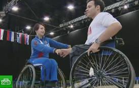 В Петербурге стартовали международные соревнования по танцам на колясках