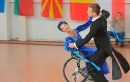 Спортивные танцы на колясках - лучшие пары выступили в Минске