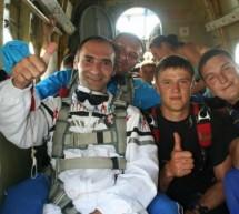 Инвалидность не помеха: азербайджанец в небе Беларуси