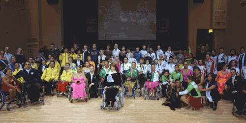 В Петербурге прошли танцы мирового масштаба