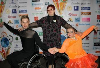 Спортивная пара из Рославля Татьяна Пименова и Владимир Смоляр