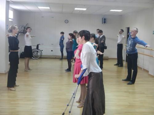 """Центр социокультурной анимации """"Одухотворение"""" организовал мастер класс по бальному танцу"""
