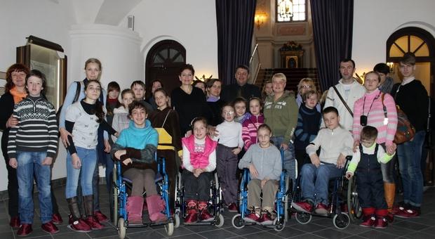Первое выступление детей танцевальной школы «Дар» в Несвиже