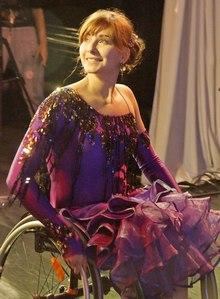 Лоева Ольга: они танцуют втроем – Он, Она и коляска. Сила духа, сила воли