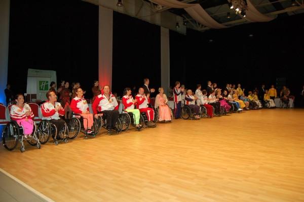 международных соревнованиях по танцам на колясках в Сербии