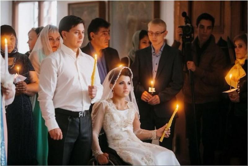 Церемония венчания