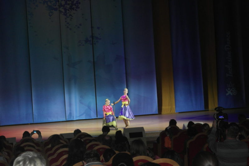 Дуэт«Magic girls» на сцене Храма Христа Спасителя