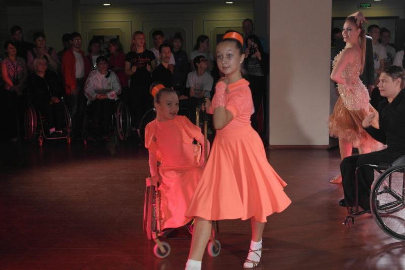Дуэт «Magic girls» танец Samba
