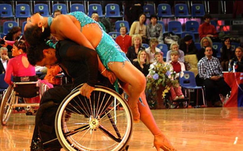 Чемпионат мира по спортивным танцам на инвалидных колясках в Минске 2008