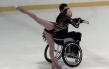 Танцы на колясках на льду