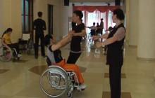 Танцы на колясках в Казахстане