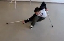 Мастер-класс: Танцы на костылях