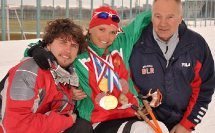Паралимпийские чемпионы: Людмила Волчёк