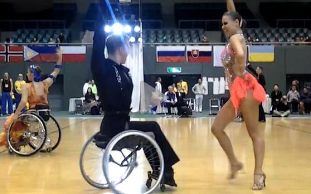 Россияне выиграли чемпионат мира по спортивным танцам среди инвалидов
