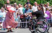 Танцы на колясках впервые в Туле
