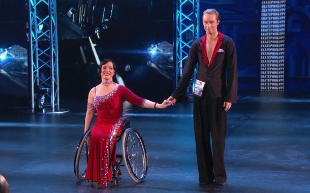 ТАНЦЫ на ТНТ: Самый необычный дуэт на кастинге - девушка в инвалидной коляске и ее партнер, говорят свое веское слово