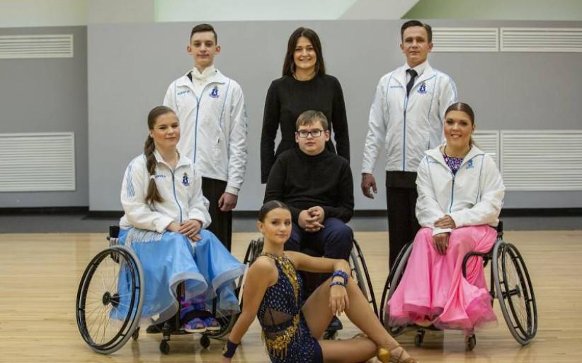 Танцоры-колясочники из Нового Уренгоя готовятся к Кубку Европы