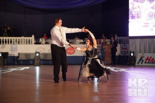 Мария Замышляева и Андрей Шиванов на конкурсе «Танцующий город» в Новороссийске