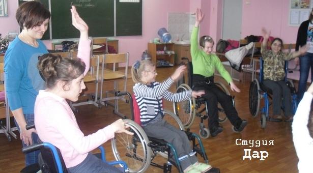 у Анны Горчаковой в танцевальной школе в студии «Дар»
