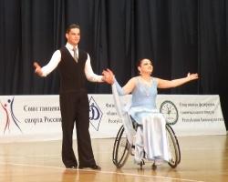 Открытый чемпионат по спортивным танцам на колясках прошел в Уфе