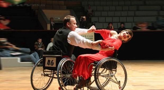 Астана - чемпионат Казахстана по танцам на колясках