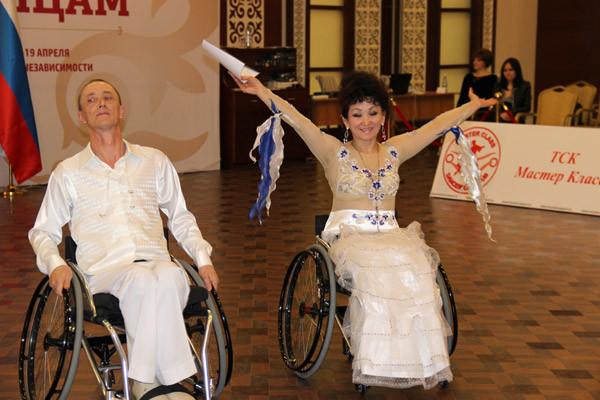 Аруна Жаксагулова и Александр Чащин заняли 1 место в номинации «фристайл»