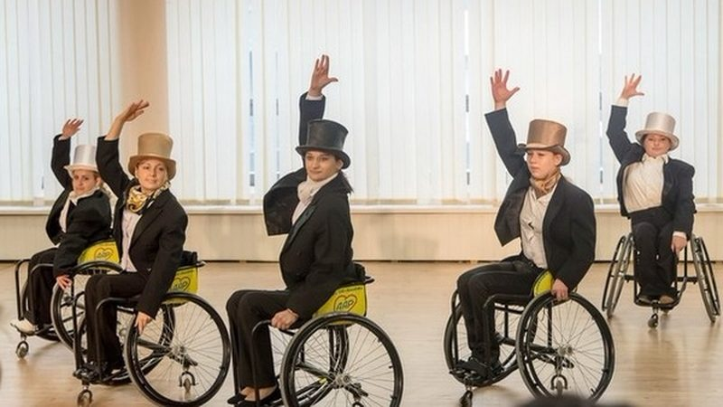 "Школа танцев на колясках ""Дар"""
