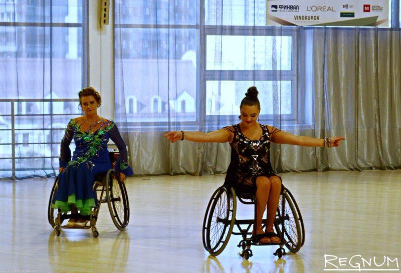 Кубок Москвы по танцам на колясках